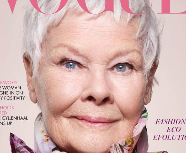 Judi Dench becomes British Vogue's oldest cover star